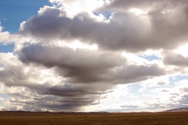 Облака идут на посадку