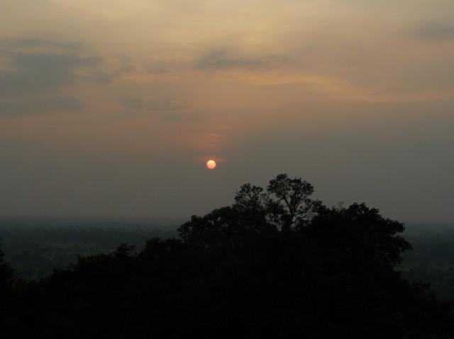 Закат в Ангкоре
