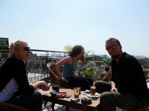 встреча на крыше Анупа