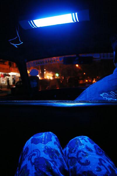 я в мумбайском такси