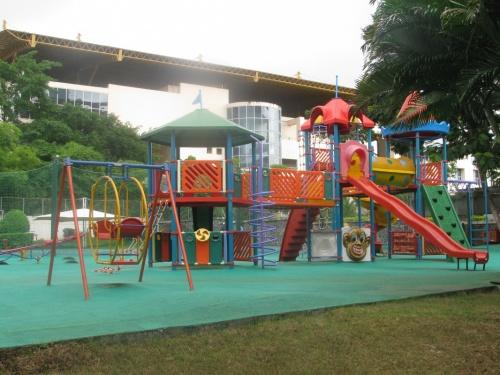 Площадка для малышей.