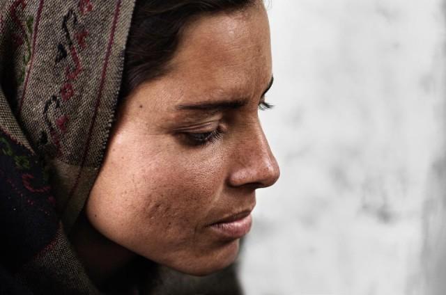 Автор - Kartazon. Женщина из Кашмира