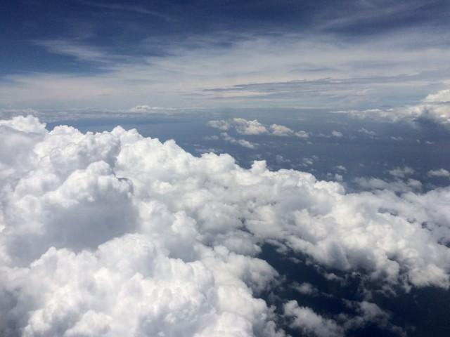 Облака над Мелакским проливом