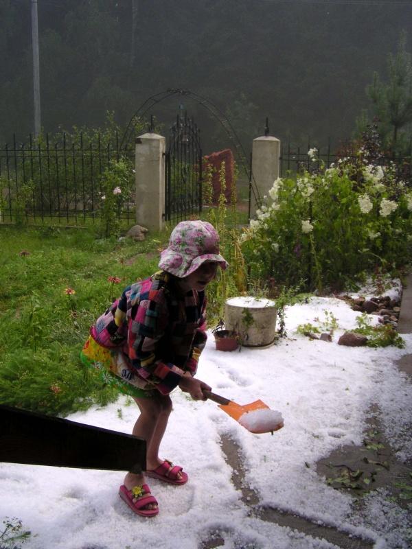 правда, и лето иногда бывает у нас снежным