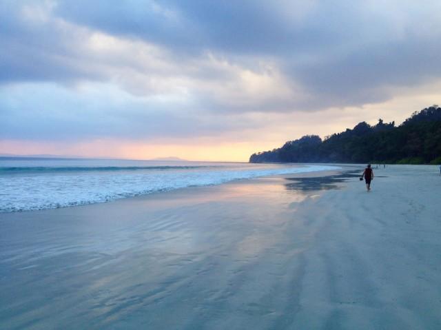 Radhanagar Beach. 01
