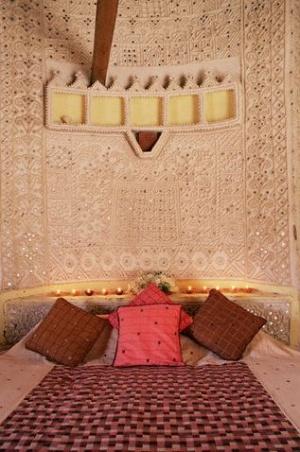 Спальня в стиле рабари
