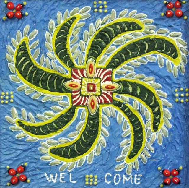 Ранголи-welcome (прикатилось из Раджастана)