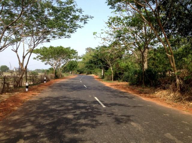Дорога на озеро