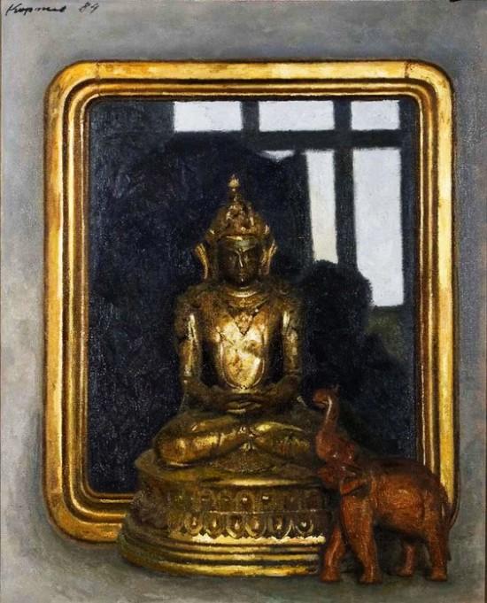 индийский бог от Коржева Гелия