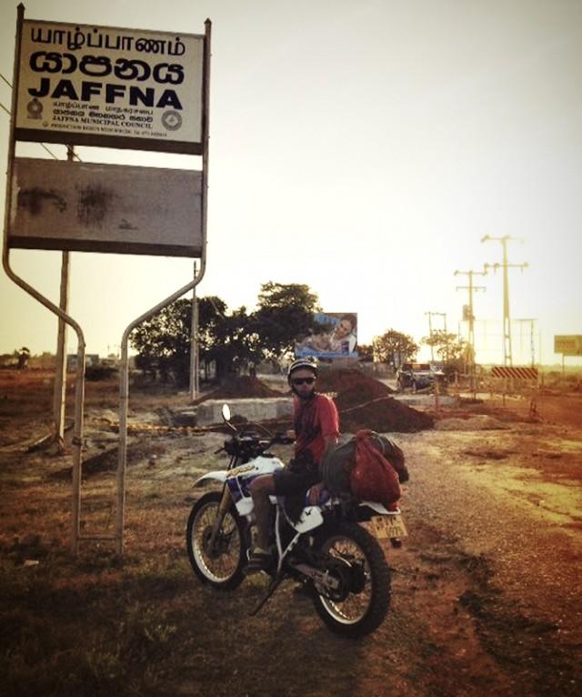 Первые русские мотоциклисты в Джаффне