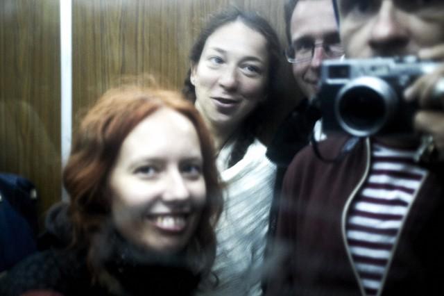 Гуляем в лифте