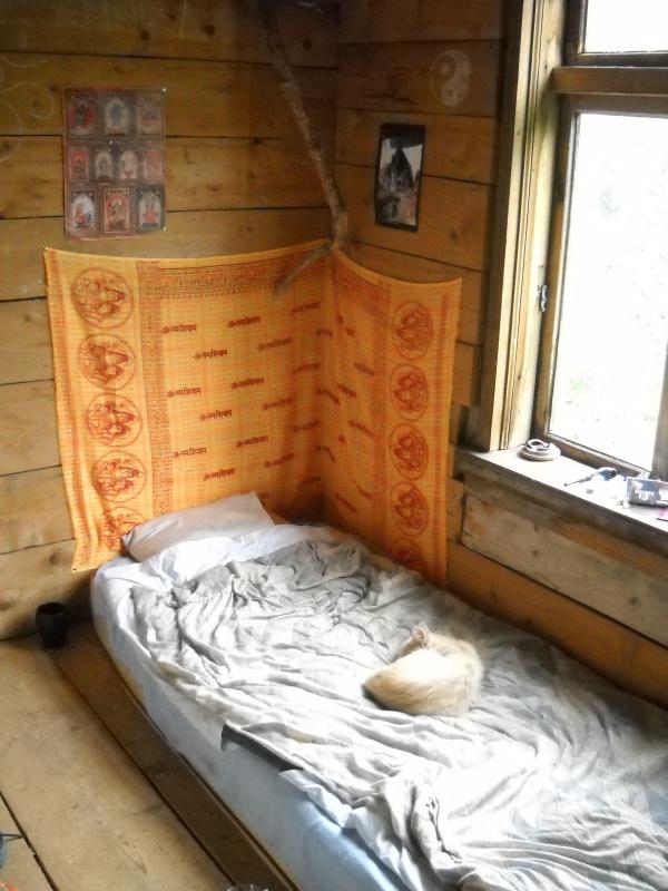 тут спал