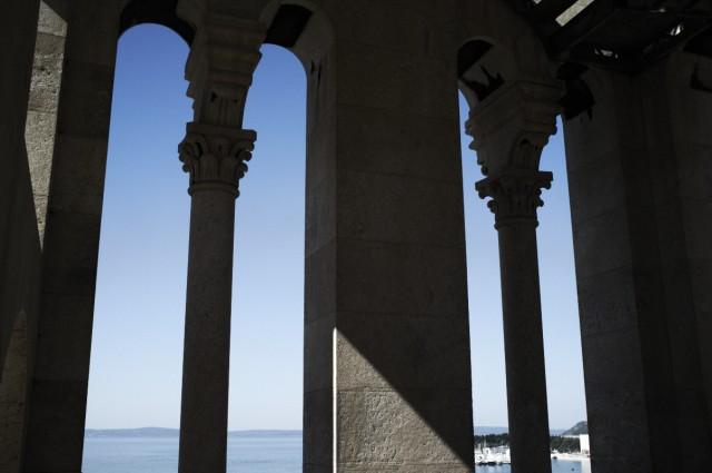 Вид из окна спальни Диоклетиана