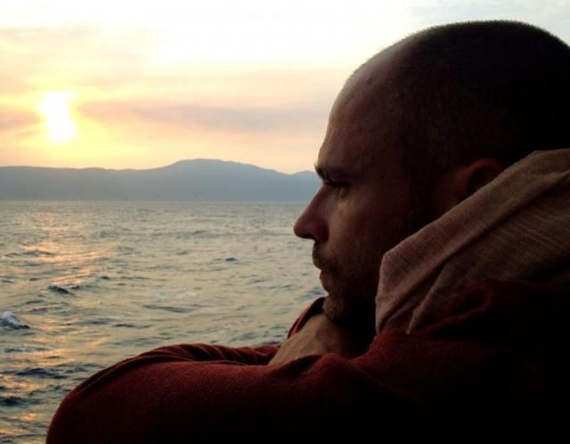 Закат на нижней палубе