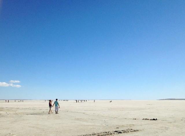 Соленое озеро Туз