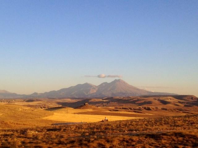 Вулкан на горизонте