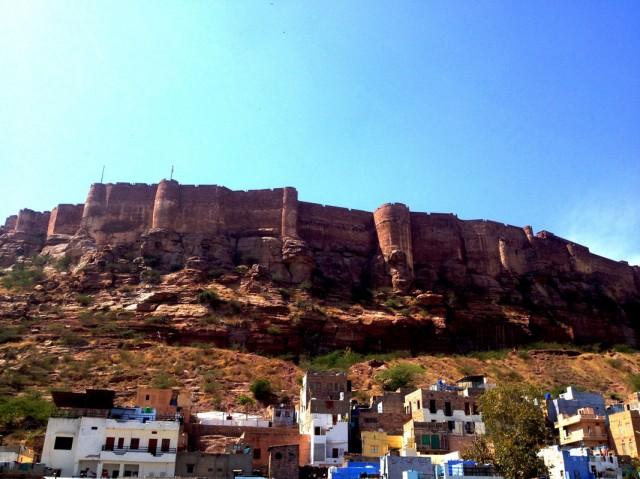 Форт Мехрангарх. Джодхпур 01