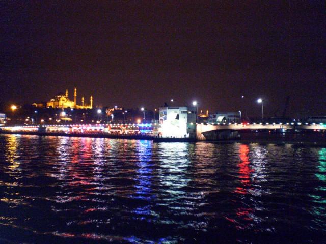Ночной Босфор