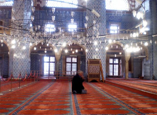 В Мечети Рустем-Паша
