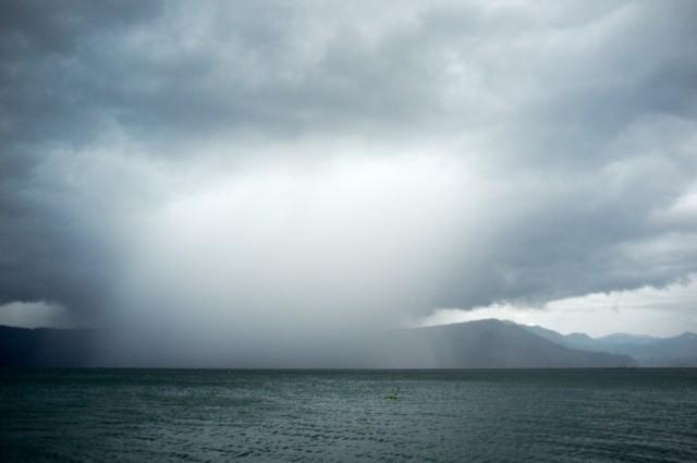 Сезон дождей в Микронезии