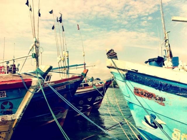 В порту Негомбо