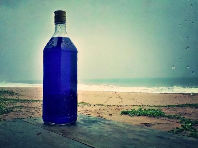 Синяя вода