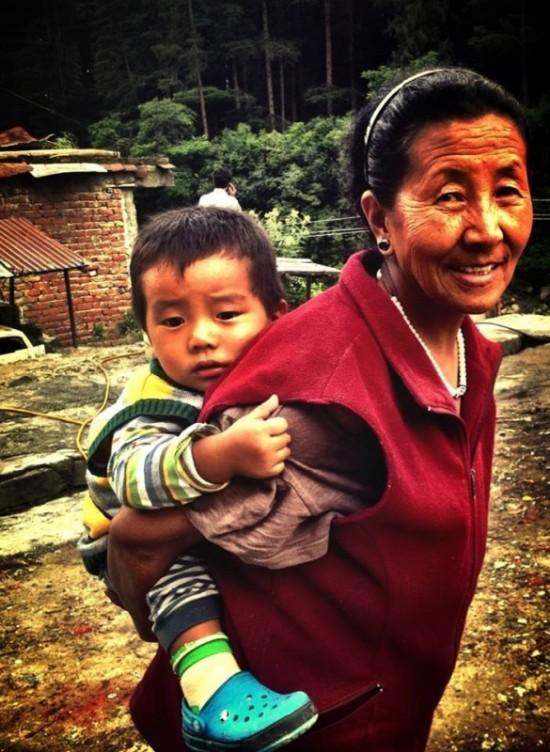 Тибетцы в Манали