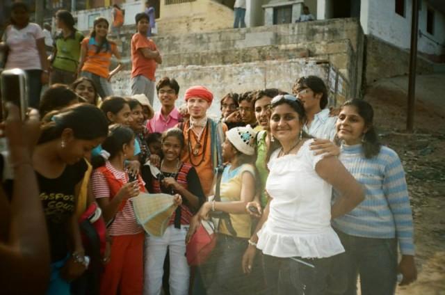 окружён счастьем индии