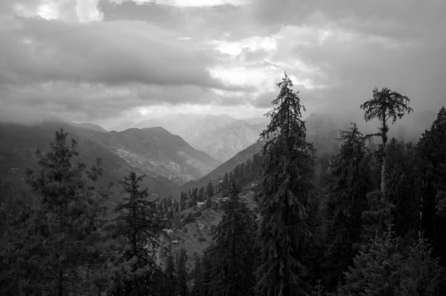 Долина Банджар с перевала Джалори