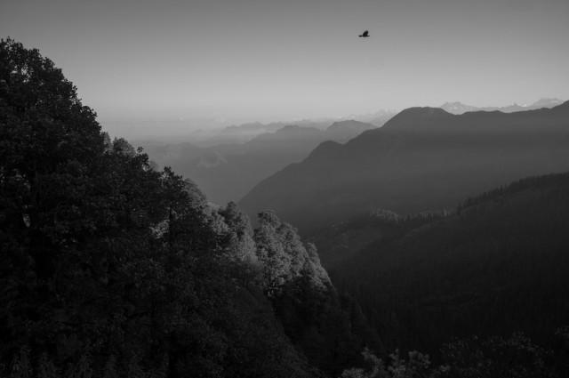 Утро на перевале
