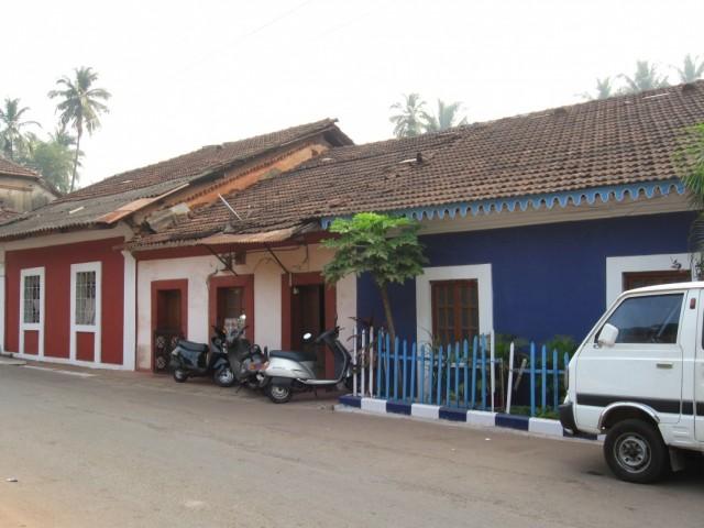 Улица Чёток (Мала-роуд) в Панаджи