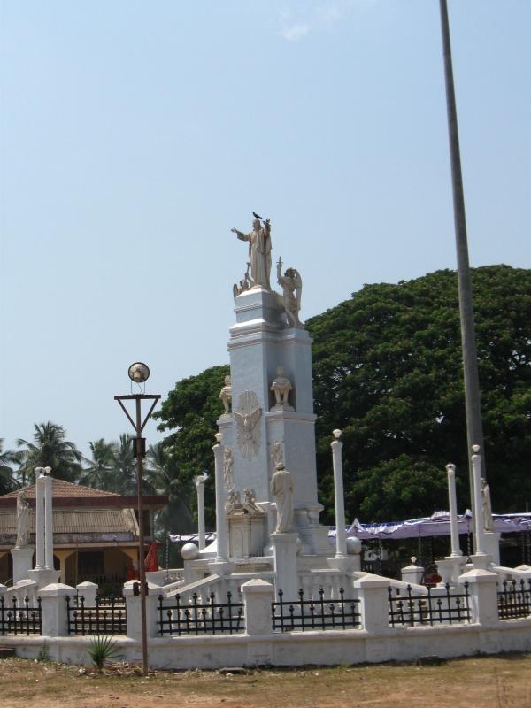 памятник Христу в южном Гоа
