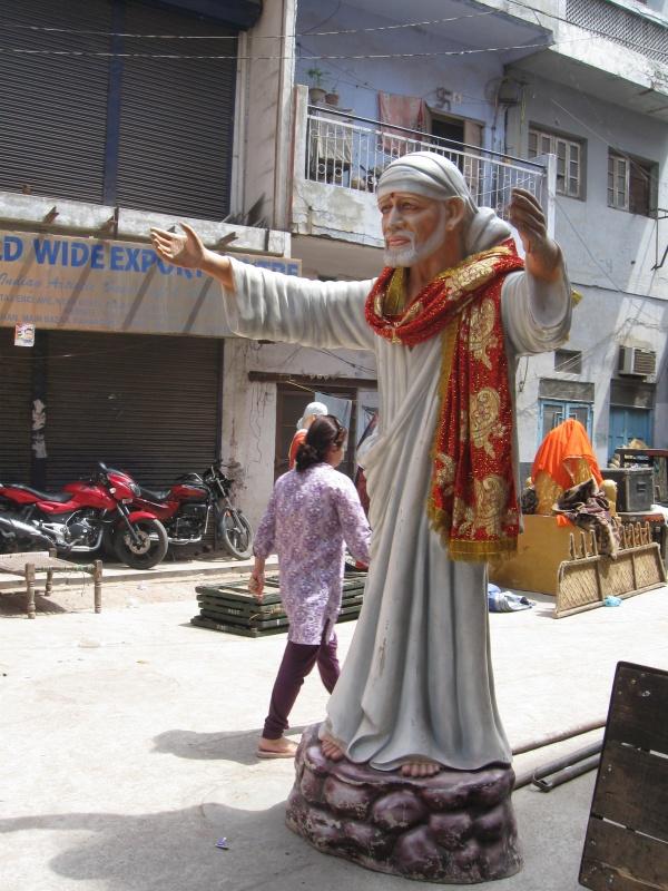 Чествование Саи-Баба на Пахар-Гандж