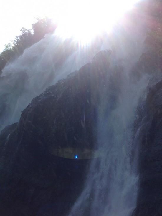 Глаз водопада.