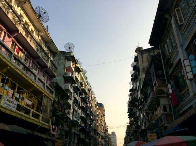 Янгон зазеркалье