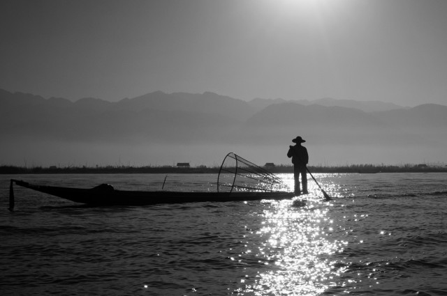 Озеро Инле 1