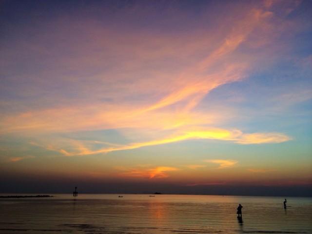 Фееричный закат