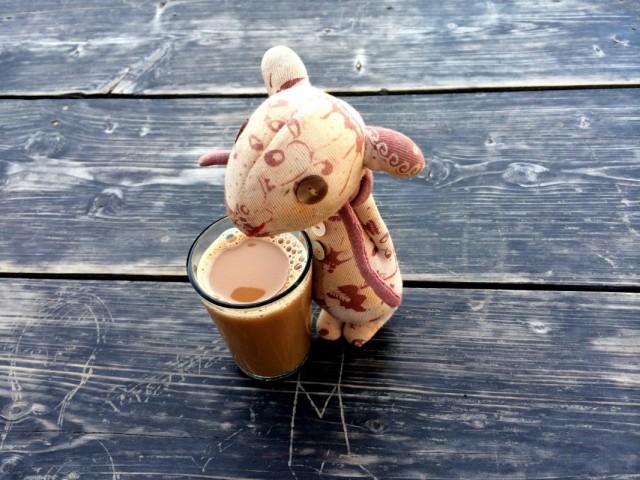 Вечерний чай Аардварка