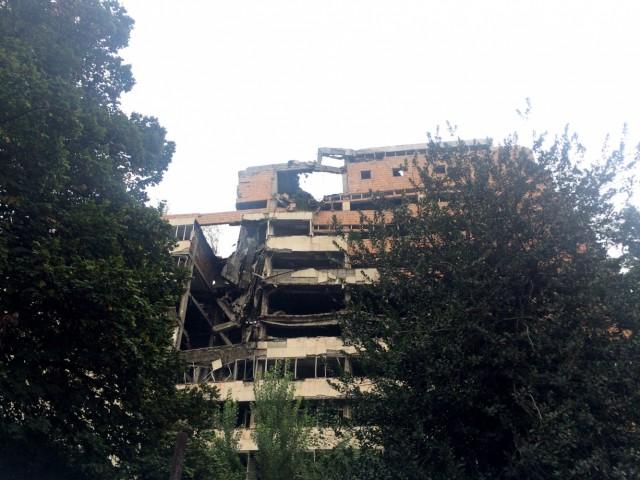 Белград 18. Следы американской бомбежки
