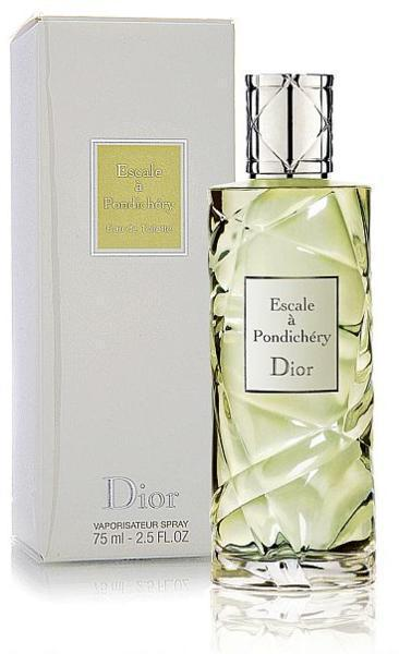 Escale a Pondichery Cruise Collection, Christian Dior. Изысканное название аромата с нотами чая, жасмина, сандала и кардамона.