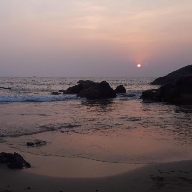 Kudley Beach Sunset