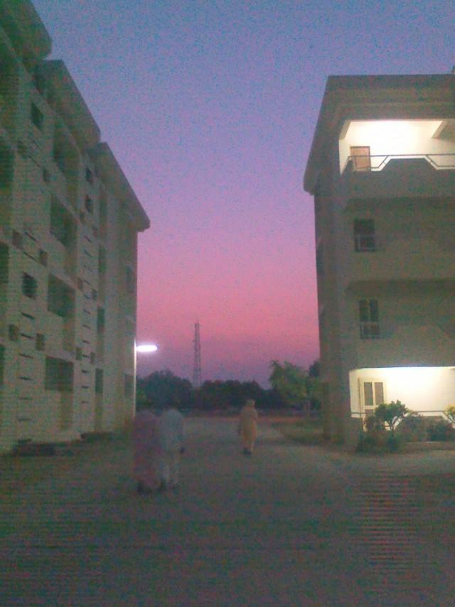 В Индии красивые закаты