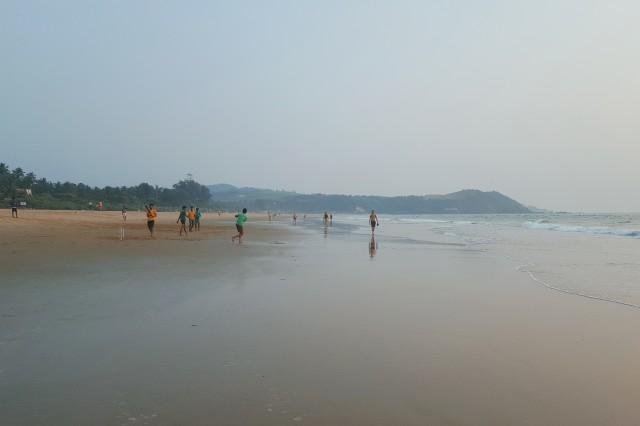 Gokarna Beach взгляд налево
