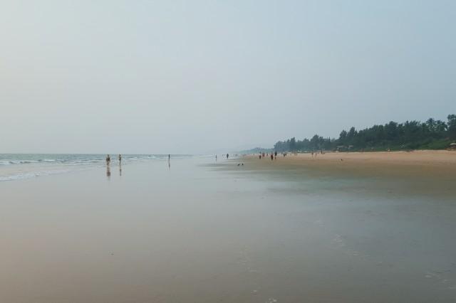 Gokarna Beach взгляд направо