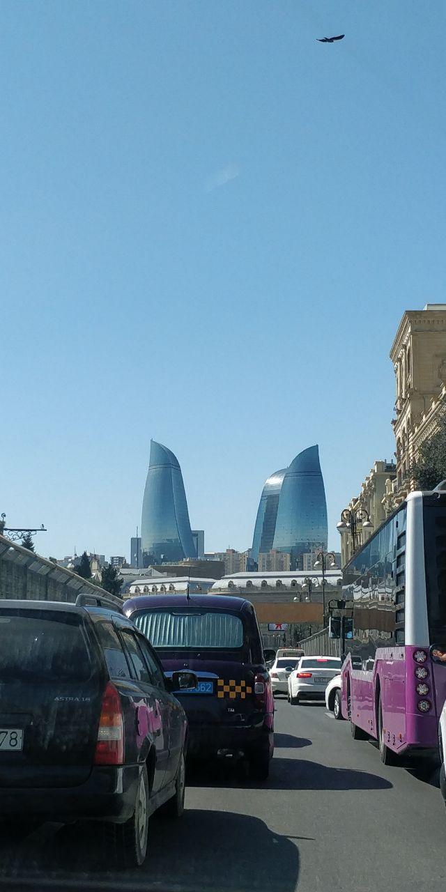 Flame towers - визитная карточка современного Баку