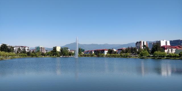 Озеро в Парке пионеров