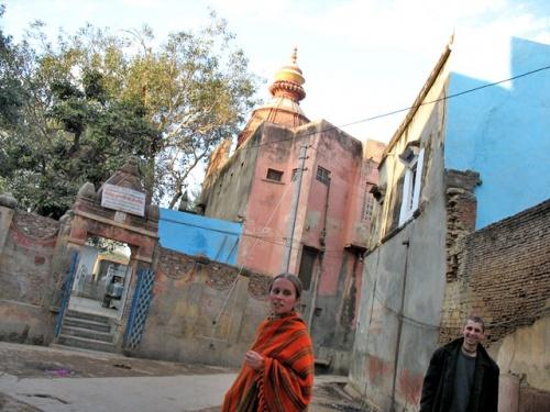 Не бриджабаси, но... Потерявшиеся во Вриндаване индостанские блоггеры - Amita-Krishna и я