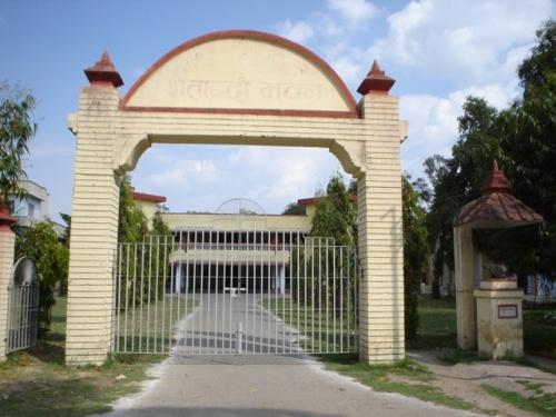 Санскритский университет Шатабди Бхаван (столетнее здание)