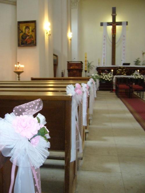 После венчания. Католический собор
