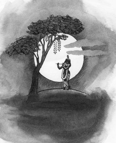 Кришна - Луна Вриндавана